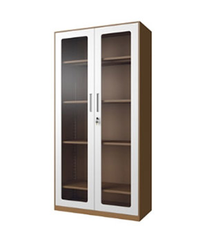 CB01-K open glass door cabinet