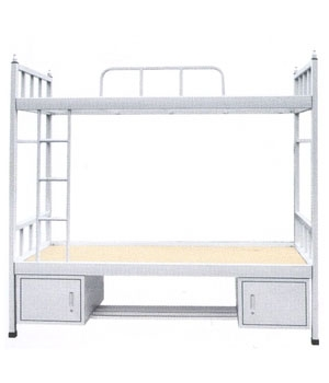 SC07 double bed with bottom cabinet