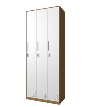 CB09-K three-door locker