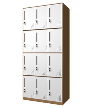 CB15-K 12-door cabinet