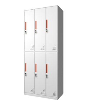 CB13-B six-door locker