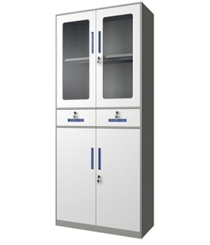 CB04-H integrated glass cabinet