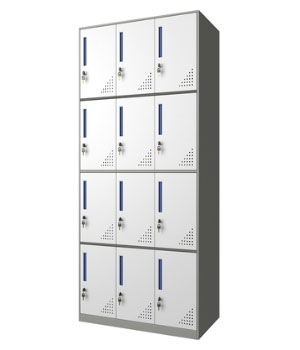 CB10-H 12-door cabinet