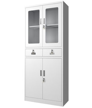 CK04-B integrated glass cabinet