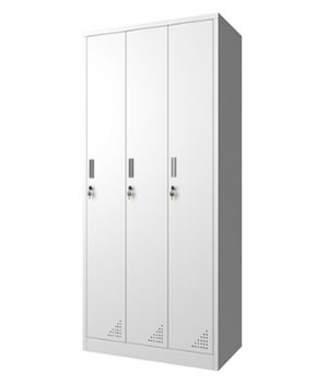 CK11-B three-door locker