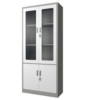 CK02-H integral glass door cabinet