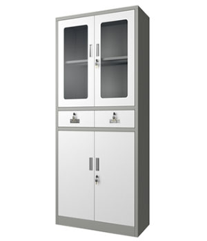 CK04-H integrated glass cabinet