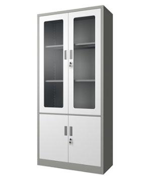 GK02-H integral glass door cabinet
