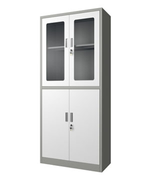 GK03-H integrated glass drawer-less cabinet