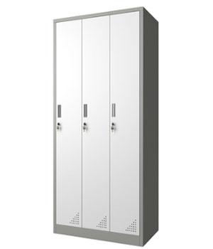 GK10-H three-door locker