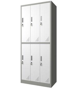 GK12-H six-door locker