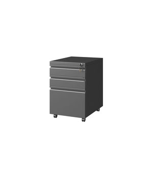 HD05-H goosenneck three-draw cabinet at night