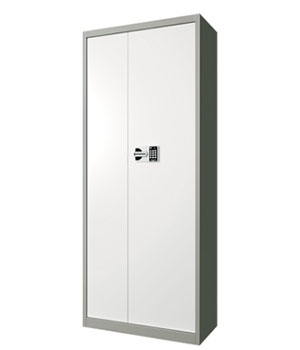 BM08 single door light grey color cabinet