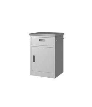 Y06 Medical Bedside Cabinet - White