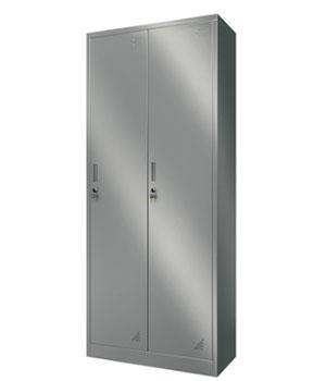 Y10 stainless steel two-door locker