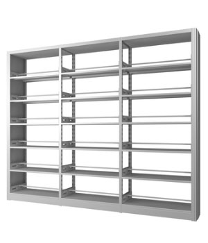 SJ03 double-column double-sided bookshelf
