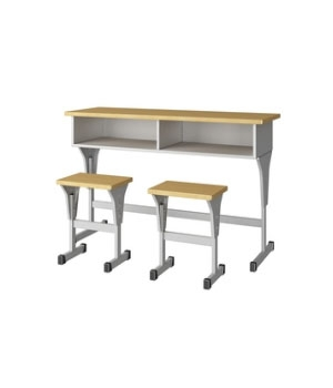 SY04 double desks and chairs